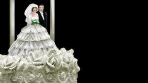Bröllopstårta.