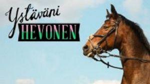 Ystäväni hevonen -banneri