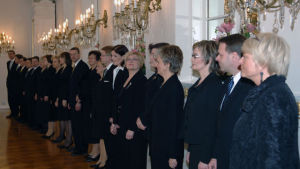 Regeringen Vanhanens ministrar på rad