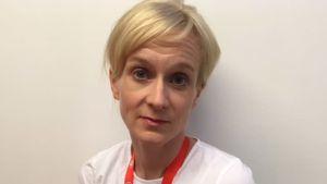 Eva Kuhlefelt arbetar som planerare för Röda Korsets nationella program för papperslösa.
