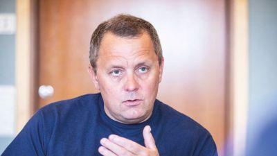 Martin Sande i närbild.