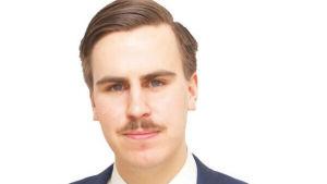 Matias Mäkynen, politisk sekreterare på Socialdemokratisk Ungdom.