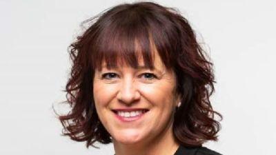 Den åländska politikern Anette Holmberg-Jansson