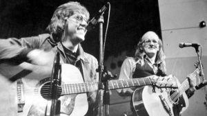 Mikko ja Juice kiertueella vuonna 1975