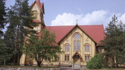 Lapinlahden kirkko Pohjois-Savossa