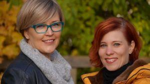 Marjaana Herlevi ja Leena Ståhlberg