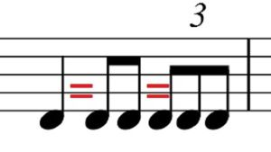 Kahdeksasosapohjaisen triolirytmin kesto verrattuna perusrytmeihin. Vain Orkesterikoneessa käytettäväksi.
