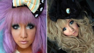 paras japanilainen suku puoli nukke BBW musta märkä pillua