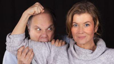 Bild på programledarna Björkqvist och Londen.
