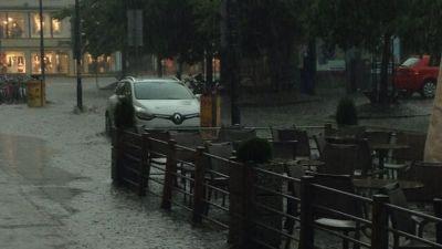 Översvämning i Vasa 14.7.2014