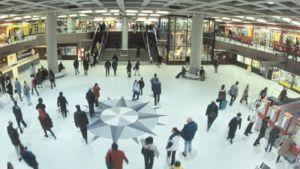 Kompassen på Järnvägsstationens metrostation