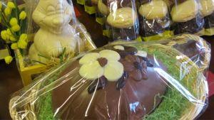 festligt chokladpåskgodis