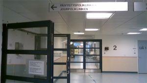 Jourpolikliniken vid Mejlans sjukhus