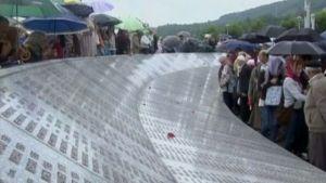 Minnesmärke över folkmorden i Srebrenica, 12.07.2009
