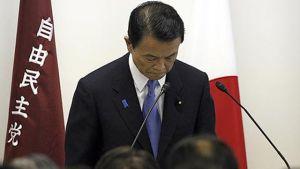 Japans premiärminister Taro Aso