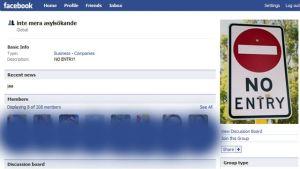Polisen undersöker misstänkt rasism i Facebookgrupp