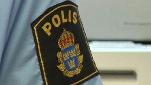 Svenska polisens märke.
