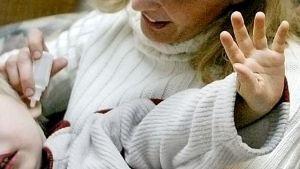 Barn med öroninflammation