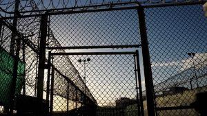 Port vid Guantánamo fängelset.