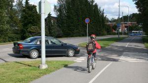 Cykel i trafiken
