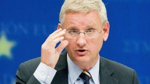 Sveriges utrikesminister Carl Bildt