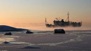 Fartyg i köld