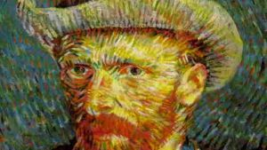 Konstnären Vincent van Goghs självporträtt.
