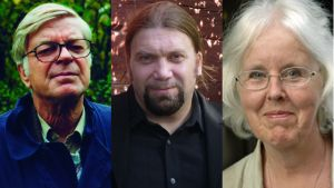 Kurt Högnäs, Ralf Andtbacka och Birgitta Boucht