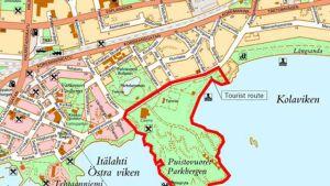 Den södra delen av Hangö centrum ska få en uppdaterad plan.