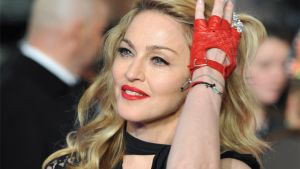 Madonna på premiär 2012