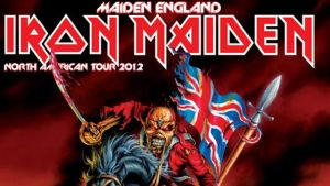 Iron maidens north american tour 2012 poster