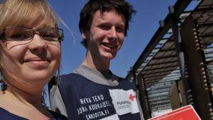 Röda Korsets fejsare börjar jobba i Västnyland.