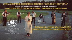 Anna Järvinen och Månskensorkestern