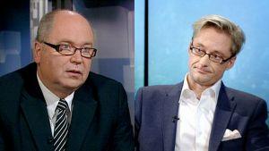 Erro Heinäluoma och Mikael Jungner.