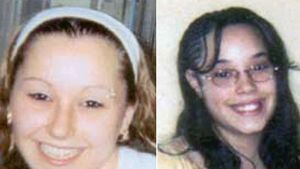 Amanda Marie Berry (t.v.) och Gina DeJesus (t.h.) då de var 16 och 14 år.