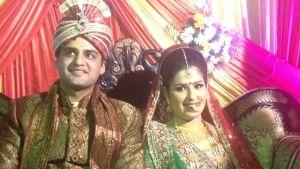 traditionellt indiskt bröllop