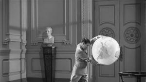 Charlie Chaplin som Hitlers dubbelgångare i Diktatorn