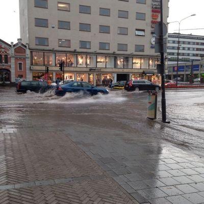 Oväder i Vasa 14.7.2014