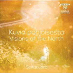 Seitakuoron Visions of the North ´-levyn kansikuva.
