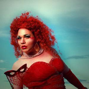 Kim Gustafsson som Madame de la Menopaux