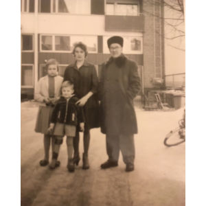Marsa Bäckin lapsuuskuva