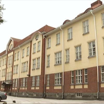 Psykiatriska avdelningen vid Kuppis i Åbo.
