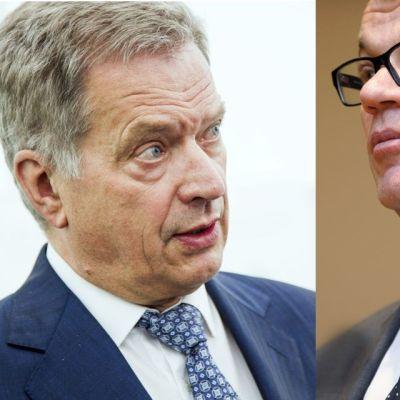 Sauli Niinistö ja Juha Sipilä