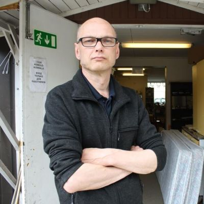 Vesa Rantanen, Kuhmon työttömien toiminnanjohtaja.
