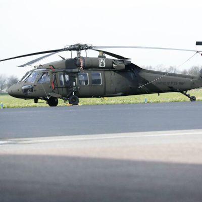 Sikorskyn Black Hawk -helikopteri.