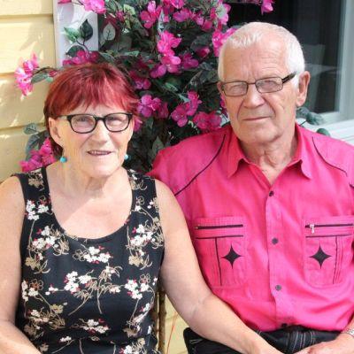 Joensuulainen aviopari Hilkka ja Vilho 51-vuotta naimisissa 6.7.2015