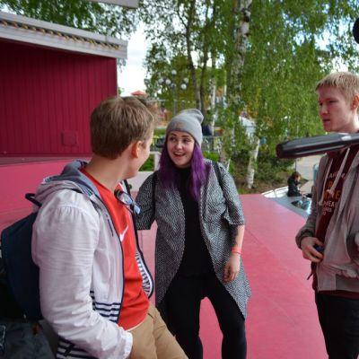 Tubettajat vierailivat Särkänniemessä