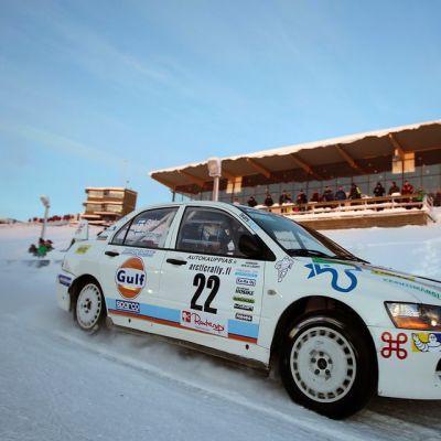Juha Salo, Arctic Rally 23.1.2015