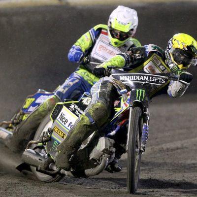 Speedway kilpailukuvaa.