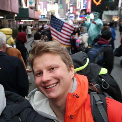 Marc Van Kan ja Juha Juntunen New Yorkissa.